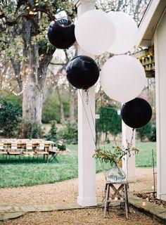 Backyard birthday styling  by Caroline Brewer. Photography by Clark Brewer.