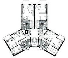 Bildergebnis für hochhäuser am letzigraben Floor Plans, Diagram, Architecture, Pictures, Floor Plan Drawing, House Floor Plans