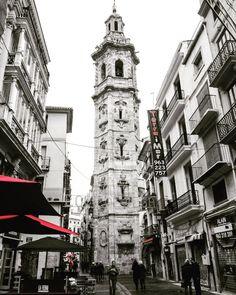 Bitácora de Juancar. Valencia Centro Histórico en imágenes. Rincones y lugares. : Torre Campanario de Santa Catalina 1688 - 1705. Ci...