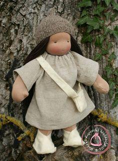 Knecht Ruprecht - OOAK Waldorf Dolls - Handgefertigte Stoffpuppen nach Art der Waldorfpuppe: For Alex