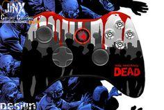 I want it now. The Walking Dead Jinx Custom Controllers Xbox 360 Designs - JiNX Custom Controllers