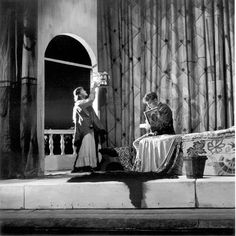 In 1954 we did a production of Arms and the Man. You can't beat a set with a balcony in!  http://www.stratfordeast.com/about-us