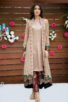 New dresses 2017 pakistani, pakistani outfits, indian dresses, pakistani cl Shrug For Dresses, Eid Dresses, Indian Dresses, Formal Dresses, Fashion Dresses, Shadi Dresses, Frock Fashion, Dresses 2016, Formal Wear