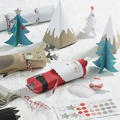 Character Christmas Crackers - Set of 6 | The White Company