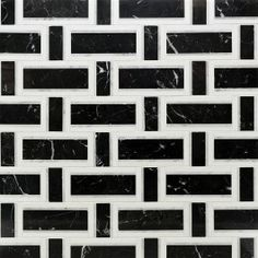 Esplanade Black Beauty Marble Tile | Tilebar.com