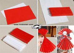 3 Easy Paper Ideas for BABA MARTA   krokotak