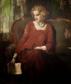 Fernand Toussaint (1873-1955), A Moment of Contemplation