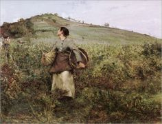 Jules Bastien-Lepage - Harvest time-Date unknown