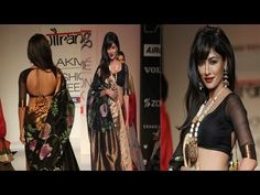 Actress Chitrangda Singh made a dramatic impact on the ramp at Lakme Fashion Week where she was the showstopper of choice for designer Gaurang.