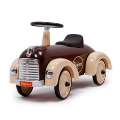 Discover Baghera Speedster Chocolate Ride on Car The Toy Centre. Super ride on toy for children. Audi Quattro, Ride On Toys, Pedal Cars, Rubber Tires, Shops, Childcare, Wooden Toys, Kids Toys, Baby Toys