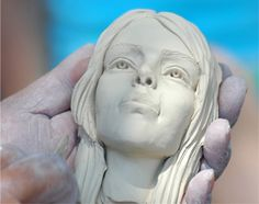 How to sculpt a face in clay