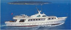 36.90 Mt., Imbarcazione a  Motore, costruita in Legno fasciame cantiere…