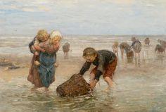De garnalenvangst van de visserskinderen - Bernard Blommers