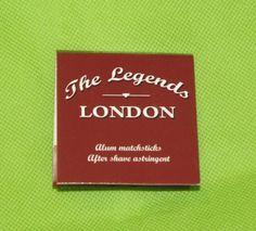 #LegendsLondon Alum Matchsticks natural after shave astringent #ebay