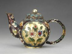 CHINESE CLOISONNE Teapot