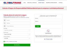 Webs de seguros de responsabilidad medioambiental