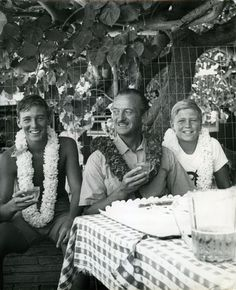 David Niven with his two sons
