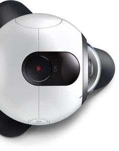 Top view of Gear 360