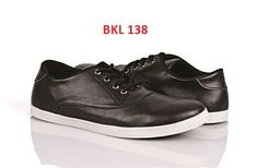 sepatu casual pria BKL-138 harga 220rb uk 38-43 bahan PU sol karet