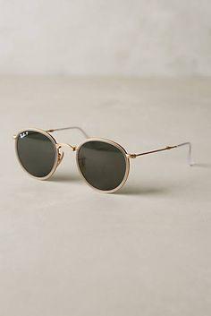 09a02a9e488c6 Ray-Ban Round Folding Classic Sunglasses Light Grey One Size Eyewear