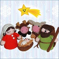 crochet nativity set...would love this if only i could do it