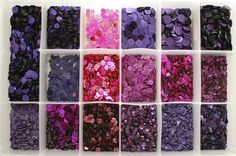 Sequin Color Inspiration...