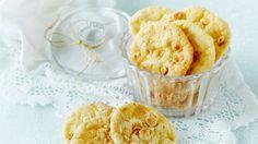 Suolapähkinä-valkosuklaakeksit