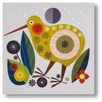 bird design Tattoo Simple is part of Adorable Bird Tattoo Designs For The Bird Lover - layered paper bird Kiwi Bird, Motif Vintage, Nz Art, Maori Art, Paper Birds, Bird Illustration, Bird Design, Bird Art, Illustrators