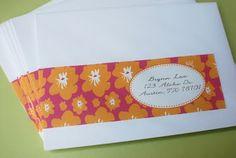 address label wraps: Hawaiian Luau