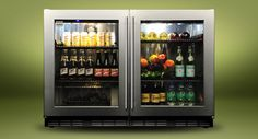"""Kalamazoo Outdoor Gourmet 48"""" Refrigerator - maintains food safe temps even in summer heat up to 110°F"""