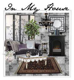 """In My House"" by jostockton ❤ liked on Polyvore featuring interior, interiors, interior design, home, home decor, interior decorating, Menu, Gubi, Karastan and McCoy Design"