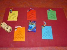 Juf Shanna: Thema Sinterklaas - spel met pepernoten