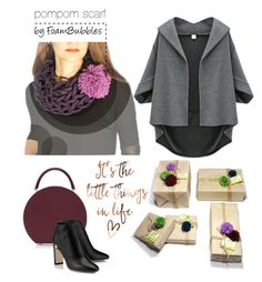 """""""Pom-Poms"""" by foam-bubbles on Polyvore featuring BUwood"""