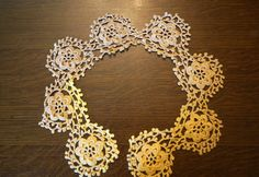 Vintage Crochet Lace by AmyFindsEverything on Etsy