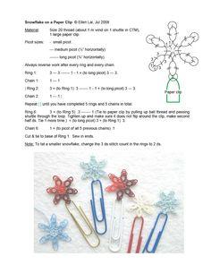 Small snowflakes