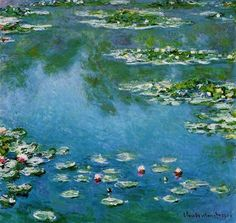 Water Lilies 6 by Claude Monet