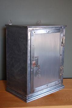 Vintage Industrial Medicine Cabinet