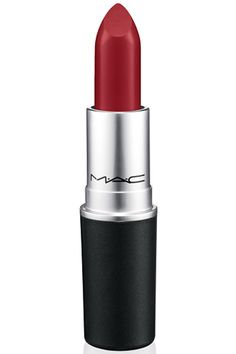 If you want lipstick that lasts through hours of eating, drinking and kissing (and doesn't leave evidence), you want this ultramatte red that magically looks good on everyone. MAC Lipstick in Ruby Woo, $16, maccosmetics.com.