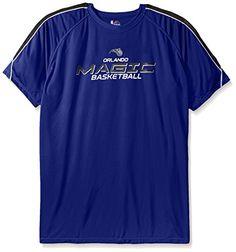 NBA Orlando Magic Mens Short Sleeved Birdseye Crew TShirt with Shoulder Piecing 4XTall Royal Blue * Read more  at the image link.