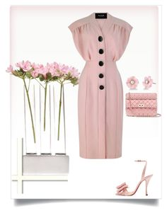 """Untitled #392"" by jelena-krzalic on Polyvore featuring Chive, Marrakech, Irene Neuwirth, Valentino and Christian Louboutin"