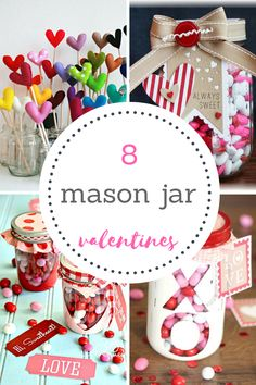 Valentines Day Mason Jar Ideas