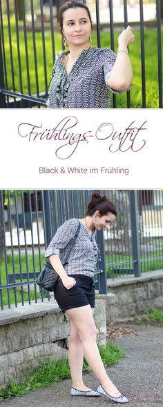 [Outfit] Mein schwarz-weißer Frühlingslook