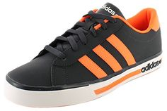 the best attitude 32f13 78785 adidas Neo DAILY TEAM Blue Orange Men Sneakers Shoes