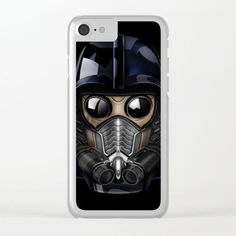 Star Darth lord Vader gas mask CLEAR IPHONE CASE #clear #iphone #painting #digital #watercolor #ink #3d #comic #illustration #starlord #guardiansofthegalaxy #darthvader #darthmaul #theforce #thesith #jedi #hansolo #r2d2 #yoda