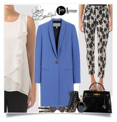 """""""Look great!"""" by sabinakopic ❤ liked on Polyvore featuring Joseph Ribkoff, Mulberry, Hermès, Bobbi Brown Cosmetics, Gianvito Rossi, Christian Dior, Roberto Cavalli, LIST, country and women's clothing"""