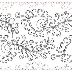 Getting to Know Brazilian Embroidery - Embroidery Patterns Quilting Stencils, Quilting Templates, Machine Quilting Designs, Longarm Quilting, Free Motion Quilting, Quilt Patterns, Art Patterns, Quilting Ideas, Boy Quilts