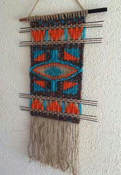 Weaving Textiles, Weaving Art, Weaving Patterns, Tapestry Weaving, Loom Weaving, Hand Weaving, Textile Patterns, Wall Tapestry, Macrame Wall Hanging Patterns
