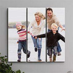 Photo Canvas Split-Panel Print Collection 3pc - 12x36