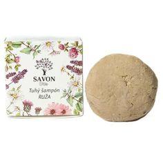 Přírodní tuhý šampon Růže 60 g - papírová krabička Savon - Krásná Každý Den Aqua, Plates, Tableware, Soap, Licence Plates, Water, Dishes, Dinnerware, Griddles