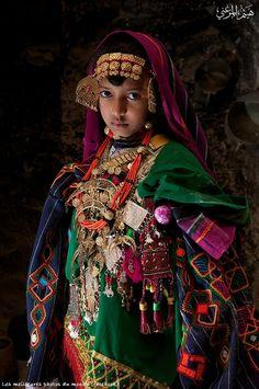 Bedouin girl    by Haitham Elmerghani